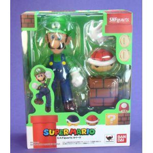 Bandai Figurine Super Mario Bros : Luigi Figuarts 10 cm