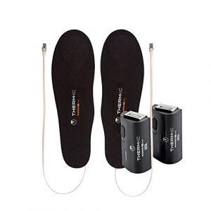 thermic Pack semelles chauffantes + batteries C pack 1300