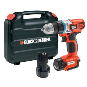 Black & Decker EGBL108 - Perceuse sans fil 10,8V