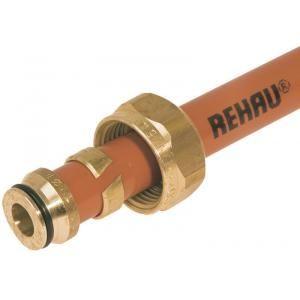 Rehau 257382-010 - Raccord à visser pour tube DN16x1.5 pour raccordement des tubes PER au collecteur