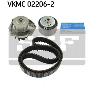 SKF Kit de distribution avec pompe à eau VKMC022062