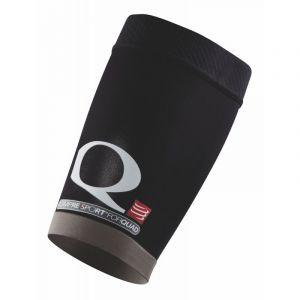 Compressport For Quad Manchon de compression Noir FR : M (Taille Fabricant : T2)