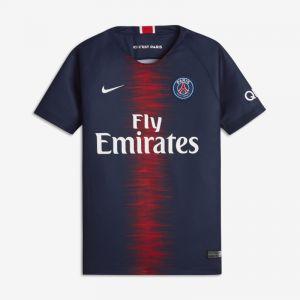Nike Maillot de football 2018/19 Paris Saint-Germain Stadium Home pour Enfant plus âgé - Bleu - Taille M