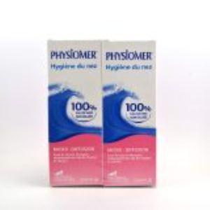 Physiomer Hygiène nasale micro-diffusion pour nourissons (2 x 135 ml)