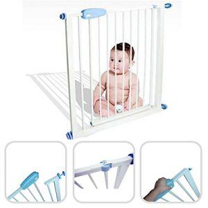 BabyField Barrière de sécurité enfant acier 74-87 cm