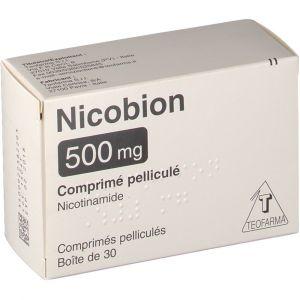 Image de Teofarma Nicobion 500 mg - 30 Comprimés