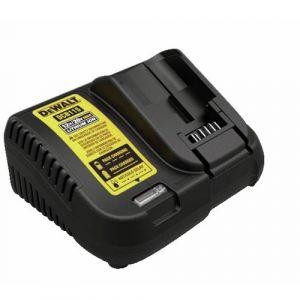 Dewalt DCB115-QW Chargeur de Batteries DCB115 10,8V à 18V LI-ION, Noir, Jaune