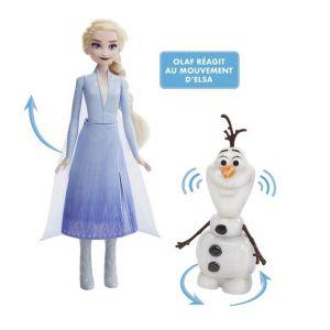 Hasbro Figurines Olaf et Elsa La Reine des Neiges 2