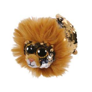 Jura Teeny Ty sequins - Peluche Regal le lion 8cm
