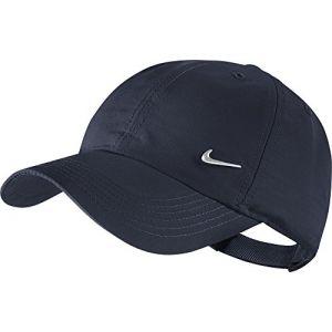 Nike Métal Swoosh - Casquette réglable - Mixte Enfant - Bleu Marine - Taille Unique