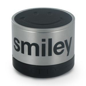 The Mobility Lab Smiley World - Mini enceinte portative filaire