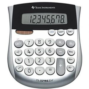 Texas instruments TI-1795 SV Calculatrice de taxes 8 chiffres