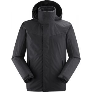 Lafuma Jaipur GTX 3In1 Fleece M Veste 3 en 1 Homme, Anthracite Grey, FR : 2XL (Taille Fabricant : XXL)