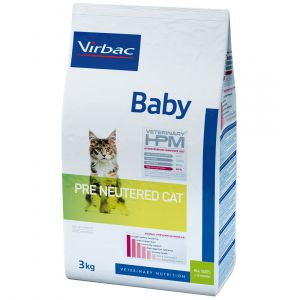 Virbac Baby Cat Pre Neutered - Sac 1,5 kg