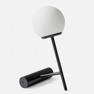 Menu Baladeuses et nomades PHARE-Lampe baladeuse LED rechargeable H23cm Noir