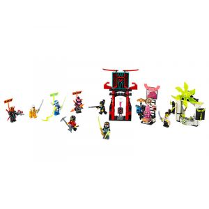 Lego Le marché des joueurs - Ninjago - 71708