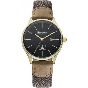 Barbour BB021 - Montre pour homme avec bracelet en tissu