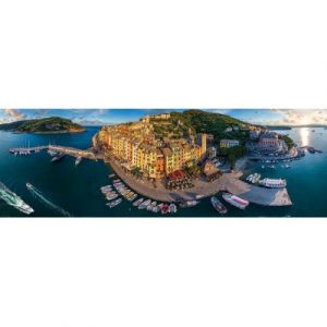 Eurographics Puzzle 1000 pièces panoramique : Porto Venere, Italie