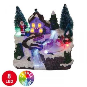 Village animé 8 LED