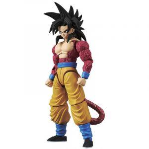 Bandai Figure-Rise Dragon Ball Z Super Saiyan 4 Goku Model Kit, 4549660144977, Multicolore