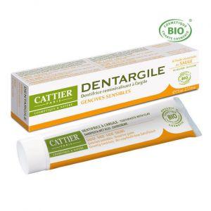 Cattier Dentargile - Dentifrice sauge gencives douloureuses
