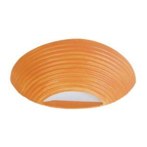 Tosel CERAMIQUE STRIES Applique en céramique 31x9x11 cm Orange - Applique - Céramique faïence - CERAMIQUE STRIES - 31x9x11 cm