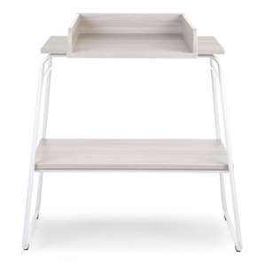 Childwood Table à langer bois gris cendré et blanc CHTAWH