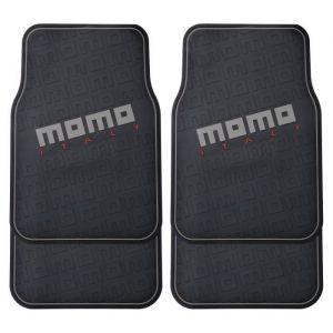 Momo TAPIS PVC NOIR ET GRIS DESIGN PLACM009BG