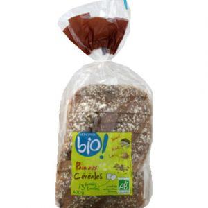 Monoprix Bio Pain aux céréales tranché, certifié AB - Le paquet de 400g
