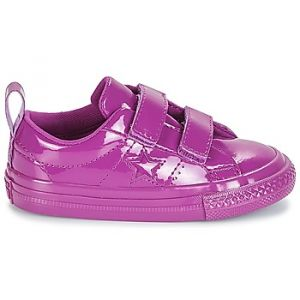 Converse Chaussures enfant ONE STAR 2V SYNTHETIC OX violet - Taille 21,22,23,24,25,26