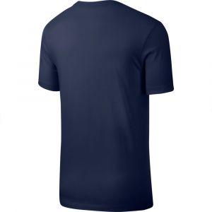 Nike Club T-shirt Hommes bleu T. M