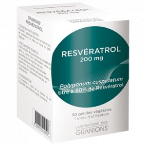 Laboratoire des Granions Resveratrol 200mg - 30 gélules