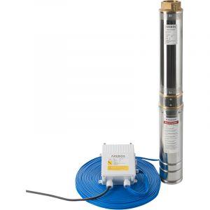Arebos Pompe de puits profond (4 pouces, 1100 W, 9000 l/h)