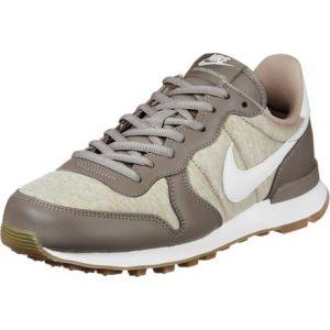 Nike Internationalist chaussures Femmes beige chiné marron T. 37,5