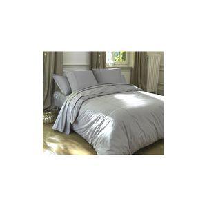 Blanc Cerise Délices Alignées - Housse de couette (240 x 260 cm)