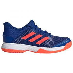 Adidas Adizero Club k, Chaussures de Tennis Mixte, Reauni/Rojsol/FTW Bla, 36 EU