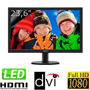 "Philips V-line 243V5L - Ecran LED 23,6"""