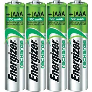Energizer 4 piles rechargeables AAA (LR3)
