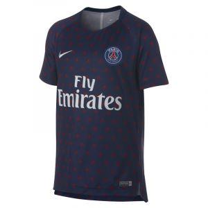 Nike Haut de football à manches courtes Paris Saint-Germain Dri-FIT Squad pour Enfant plus âgé - Bleu - Taille S
