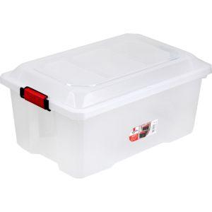 Sundis 4546003 Malle de Rangement Locker, Plastique, Transparent, 40L