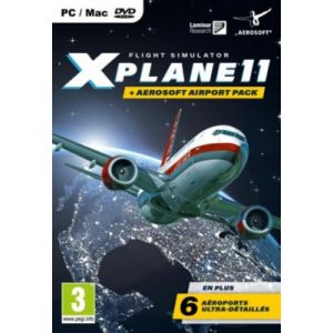 X-Plane 11 + Aerosoft Airport Pack [PC]