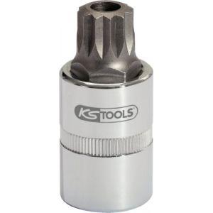 """KS Tools Douille à vidange 1/2"""" XZN M16, L.50 mm"""