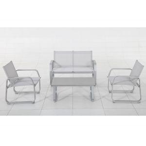 Hesperide Gili - Salon de jardin en aluminium - Comparer ...