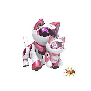 Splash Toys Coffret Chat Teksta et son chaton