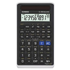 Casio FX 82 Solar II - Calculatrice scientifique solaire