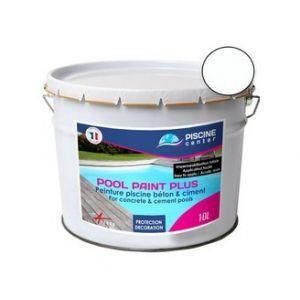 Piscine center o'clair Peinture piscine pool paint plus blanc 10 l