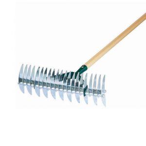 Leborgne 460321 - Scarificateur 32 dents manche bois