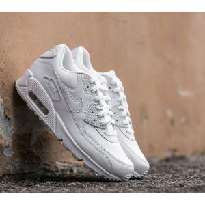 Nike Air Max 90 Essential, Baskets Homme, Blanc (White), 44 EU