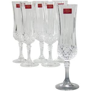 flute a champagne cristal d'arc
