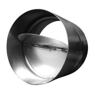 Winflex Ventilation Winflex - Clapet anti-retour acier 100mm, conduit de ventilation